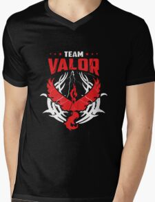Pokemon Go team Valor Mens V-Neck T-Shirt
