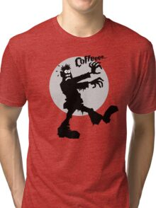 Coffee Zombie Needs It Bad Tri-blend T-Shirt