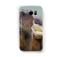 Young Adult Green Iguana Samsung Galaxy Case/Skin