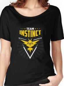 Pokemon Go team Instinct Women's Relaxed Fit T-Shirt