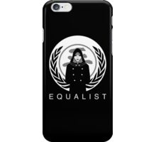 Equalist Revolt iPhone Case/Skin