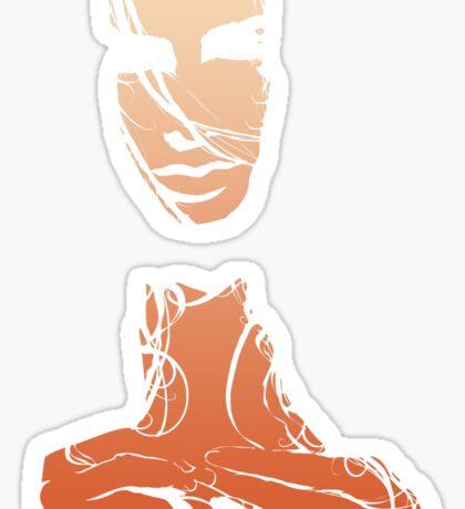 Tangles - Apparel Sticker