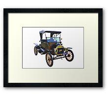1914 Model T Ford Antique Car Framed Print