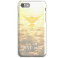 Team Instinct - Pokémon Go iPhone Case/Skin