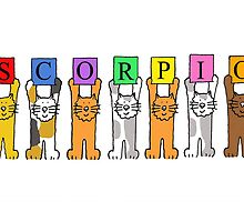 Scorpio Birthday Cats by KateTaylor