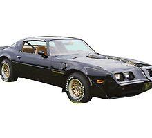 1980 pontiac Trans Am Muscle Car by KWJphotoart