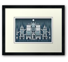 Gothic Buildings of Prayer Framed Print