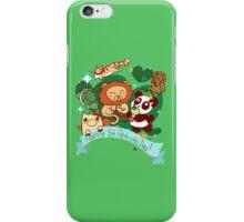 Happy St. Patrick's Day Animals iPhone Case/Skin