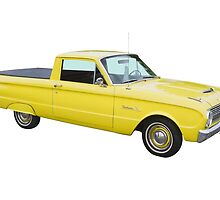 1962 Ford Falcon Pickup Truck by KWJphotoart