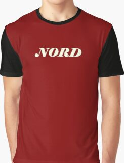 Nord synth white Graphic T-Shirt