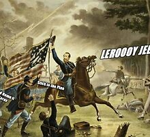 God dammit, Leeroy by husnik77