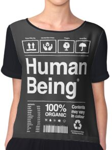 Human Being® | Alternate Chiffon Top