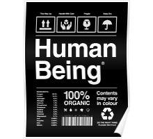 Human Being® | Alternate Poster