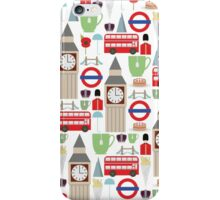 London Pattern iPhone Case/Skin
