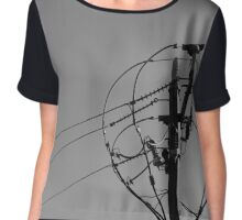 Power to the people Chiffon Top