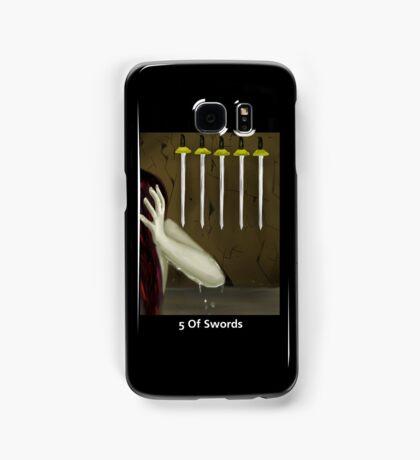 Tarot: 5 of Swords Samsung Galaxy Case/Skin
