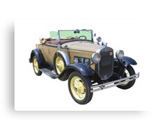 1931 Ford Model A Cabriolet Antique Car Canvas Print