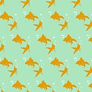 Goldfish Pattern - Don't Be Koi by CatAstrophe