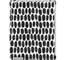 Gouache brush strokes #2 iPad Case/Skin