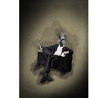 An Uncomfortable Gentleman Photographic Print
