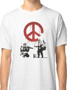 BANKSY - CND Classic T-Shirt