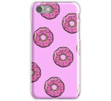 homer simpson donuts  iPhone Case/Skin