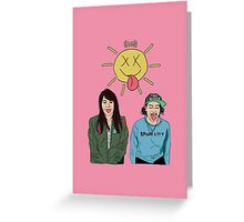 Broad City Greeting Card