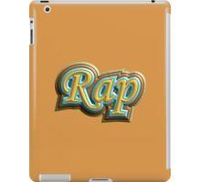 Vintage Rap iPad Case/Skin