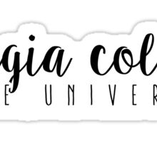 Georgia College State University Sticker