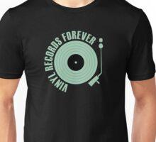 vinyl records green  Unisex T-Shirt
