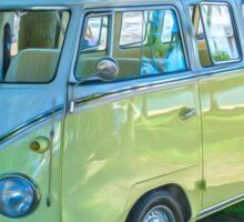 VW Kombi Microbus at Airlie Beach Sticker
