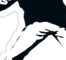 BANKSY - RAGE FLOWER THROWER Sticker
