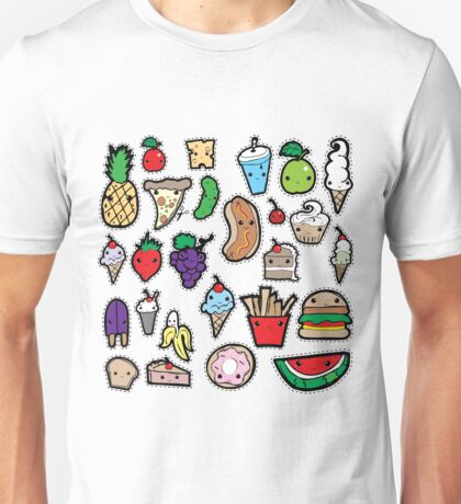 Playing with Food Unisex T-Shirt