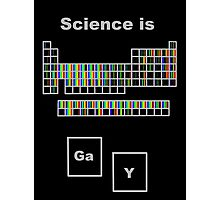 Science is Gay- Elemental Spectra Photographic Print