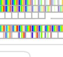 Science is Gay- Elemental Spectra Sticker