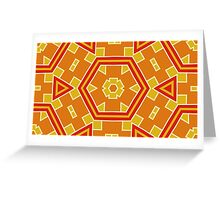 Abstract Geometric 260413(11) Greeting Card
