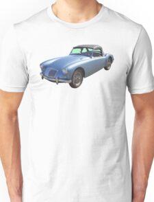 MG Convertible Sports Car Unisex T-Shirt