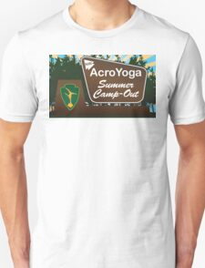 NW AcroYoga Summer Campout T-Shirt