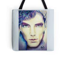 Benedict Cumberbatch as Sherlock Design 3 Tote Bag