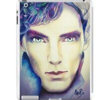 Benedict Cumberbatch as Sherlock Design 3 iPad Case/Skin