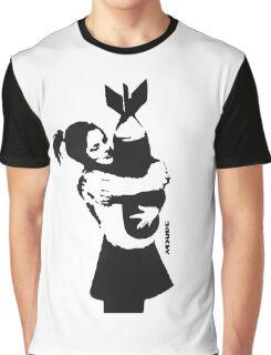 BANKSY - BOMB HUGGER Graphic T-Shirt