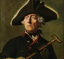 Frederick the Great Painting by warishellstore