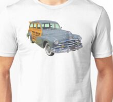 1948 Pontiac Silver Streak Woody Antique Car Unisex T-Shirt