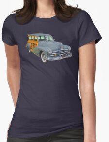 1948 Pontiac Silver Streak Woody Antique Car T-Shirt