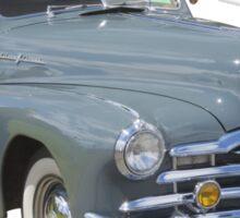 1948 Pontiac Silver Streak Woody Antique Car Sticker