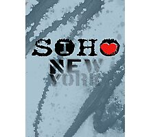 I LOVE NY soho Photographic Print