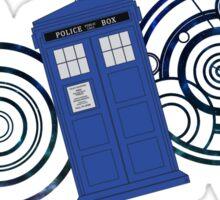 TARDIS Design Sticker