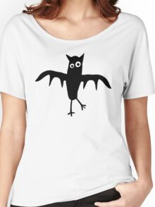 Funny, quirky bat Women's Relaxed Fit T-Shirt