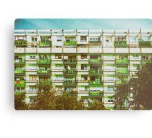 Communist Building Apartments Metal Print