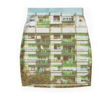 Communist Building Apartments Mini Skirt